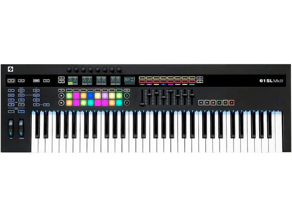 Novation 61-key SL Keyboard Controller with Semi-weighted Keys