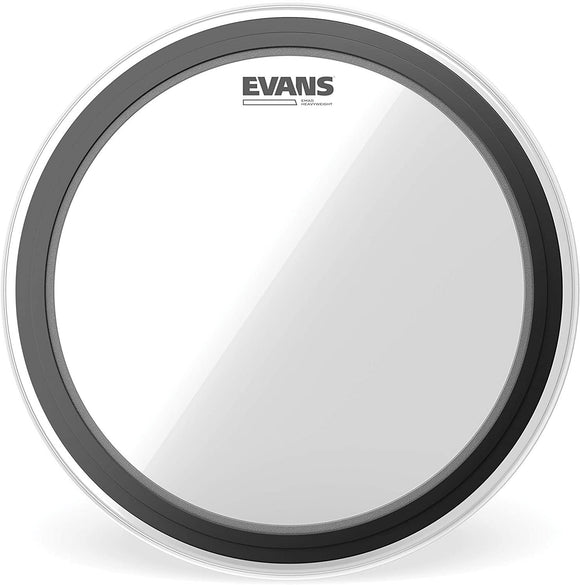 Evans EMAD Heavyweight Clear Bass Drum Head