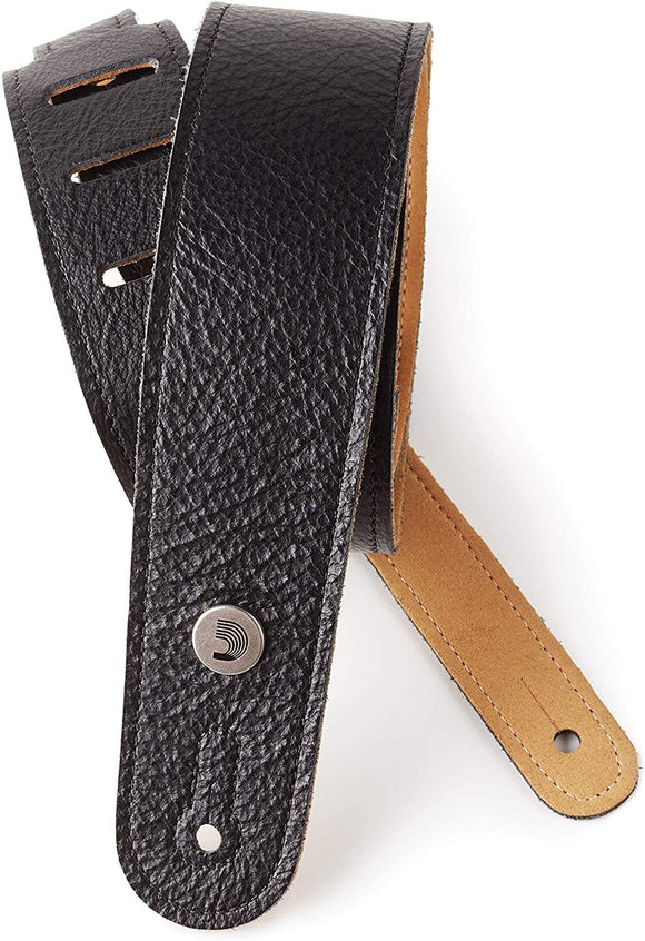 D'Addario 2.0 Slim Garment Leather Guitar Strap
