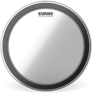 Evans EMAD Batter Clear Bass Drum Head
