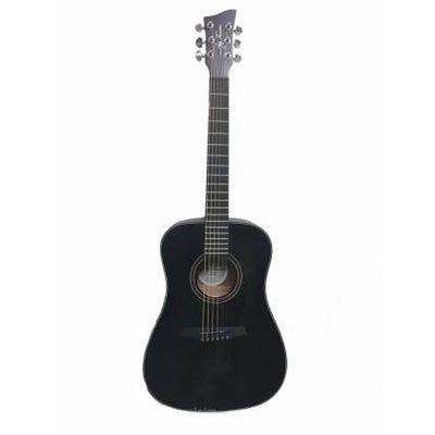 Jay Turser JTA53-SBK 3/4 Size Dreadnought Guitar - Black