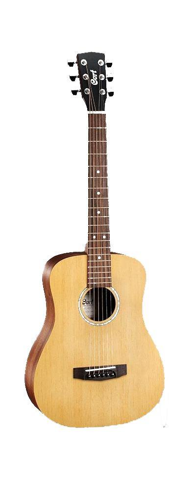 Cort Open Pore 3/4 Size Acoustic Guitar With Gig Bag AD-MINI-BAG-OP