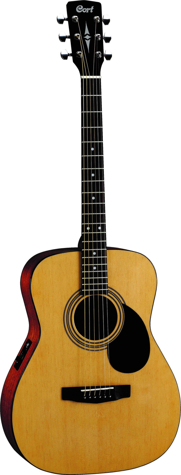 Cort AF510E Acoustic Guitar, Open Pore