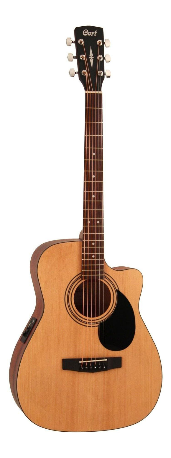 Cort Standard Series AF515CE C/E Acoustic Guitar, Open Pore