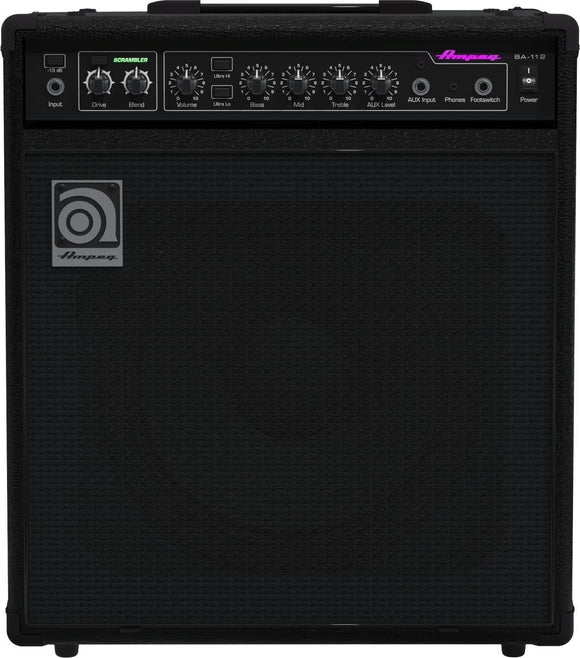 Ampeg Bass Combo Amplifier BA112v2 75 Watts