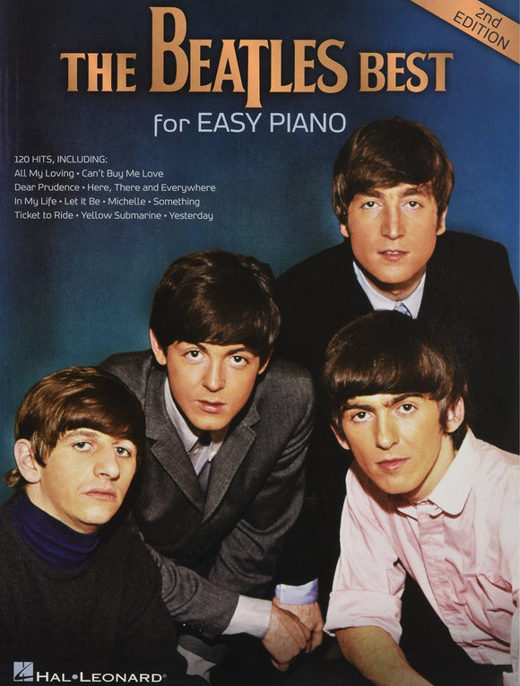 The Beatles Best - 2nd Edition for Easy Piano Book HL13343