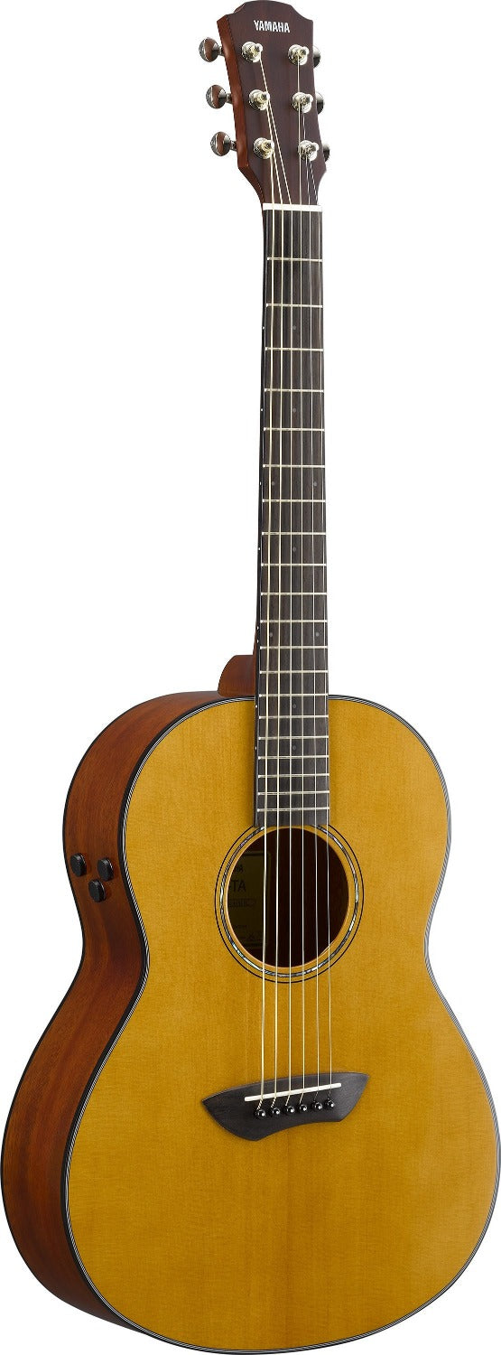 Yamaha CSFTA VN Trans Acoustic Parlour Guitar - Used/Store Demo