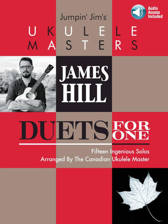 James Hill Duets for One Ukulele Book