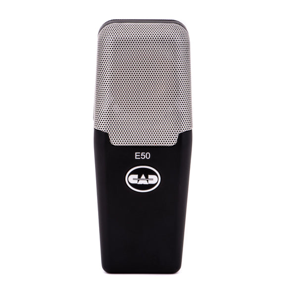 CAD Audio E50 Equitek Large-Diaphragm Side-Address Studio Condenser Microphone