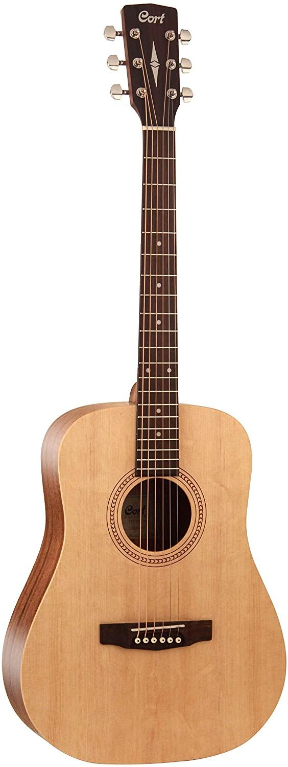 Cort EARTH50-OP Easy Play Acoustic Guitar Open Pore Natural
