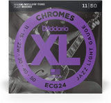D'Addario Chromes Electric Flat Wound XL Strings