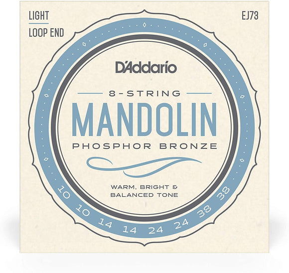 D'Addario EJ Phosphor Bronze Mandolin Strings