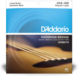D'Addario Phosphor Bronze Acoustic Bass Guitar Strings