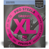 D'addario EPS170-6 ProSteels Bass Strings 6 String Set