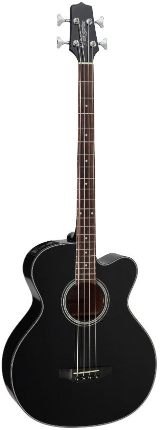 Takamine GB30CE-BLK Acoustic Bass Guitar