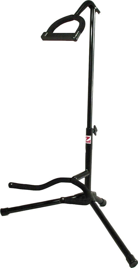 Profile Black Guitar Stand With Rubber Padded Neck Support GS450