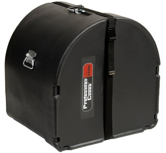 Gator Bass Drum Case 24x14-EBONY GP-PC2414BD-EB