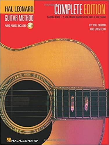 Hal Leonard Guitar Method Complete Books 1 2 3