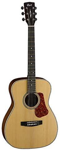 Cort L100C NS Natural Satin Concert Size Acoustic Guitar