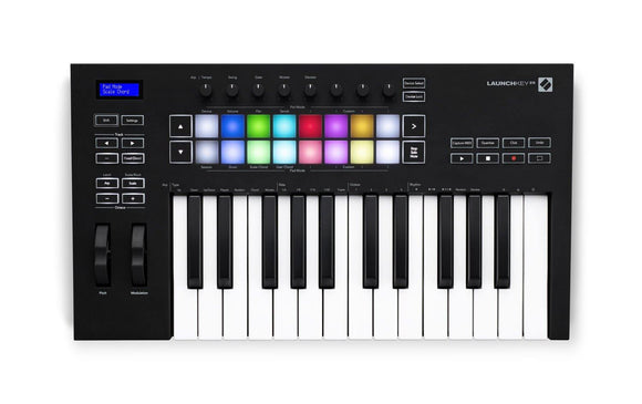 Novation Launchkey 25-key Fully Integrated Midi Keyboard Controller
