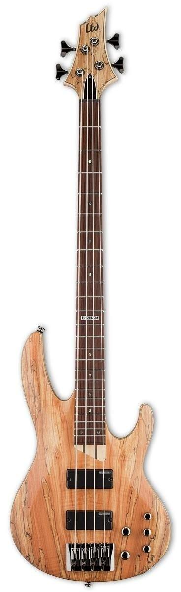 LTD B204SM Electric Bass, Natural Satin