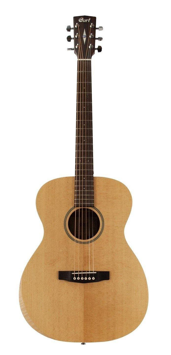 Cort Luce Series Acoustic Guitar w/ Bevel Cut, Open Pore