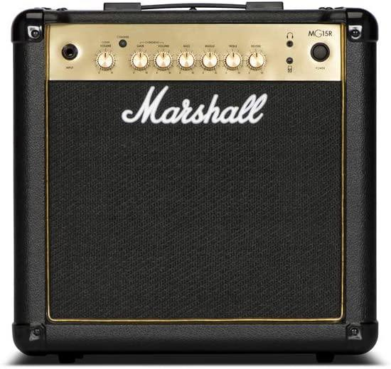 Marshall MG15GR 15-watt, 2-channel Guitar Combo Amplifier