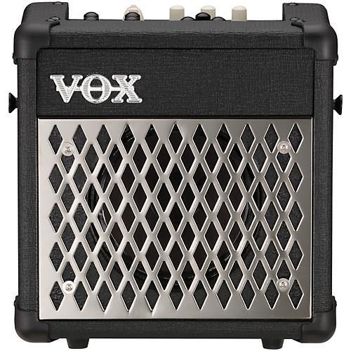 Vox 5 Watt MINI5-RHYTHM Black Portable Busking Amp w/Built in Rhythms