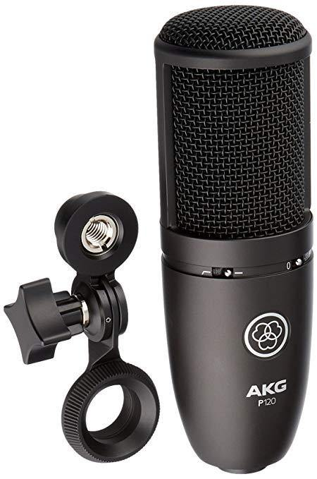 AKG P120 High Performance General Purpose Large Diaphragm Condenser Microphone