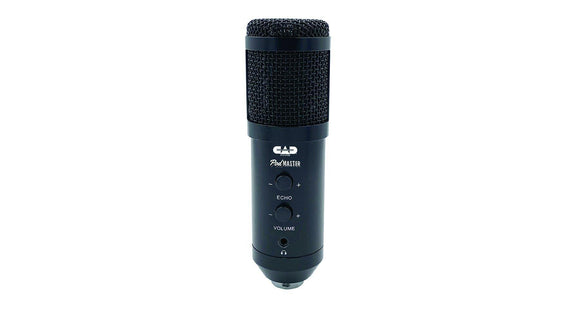 CAD Audio Podmaster USB Broadcast/Podcasting Condenser Microphone Kit