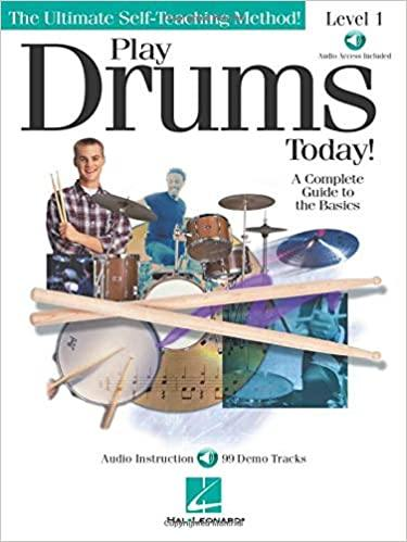 Hal Leonard Play Drums Today Level 1