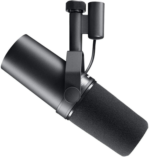 Shure SM7B Cardioid Dynamic Microphone With Windscreen & Yoke