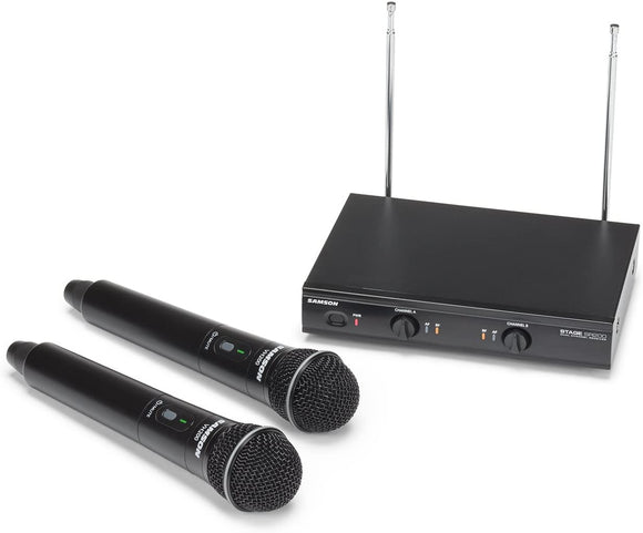 Samson Stage 200 VHF HH Wireless Microphone SWS200HH-D DEMO