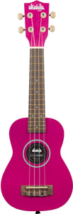 KALA SOLID COLOR UKADELIC WOOD SOPRANO UKULELE