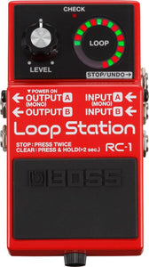 Used Boss RC-1 Loop Station