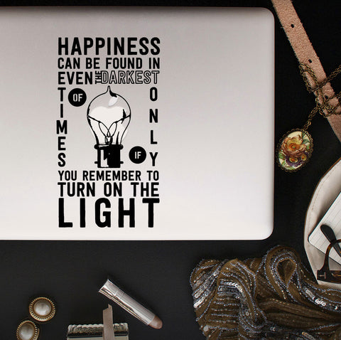 Dumbledore Harry Potter Macbook Decal