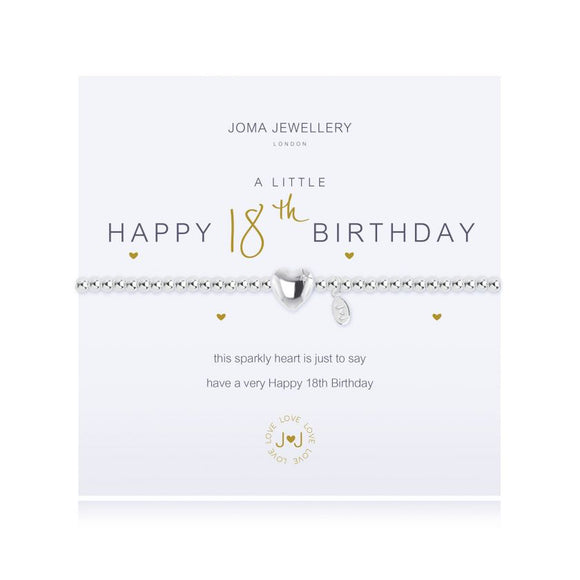 Joma Jewellery - A Little - Happy 18th Birthday
