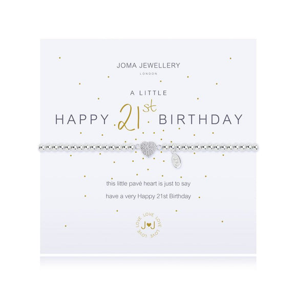 Joma Jewellery - A Little - Happy 21st Birthday