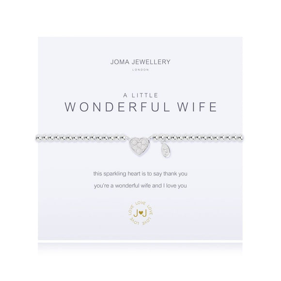 Joma Jewellery - A Little - Wonderful Wife