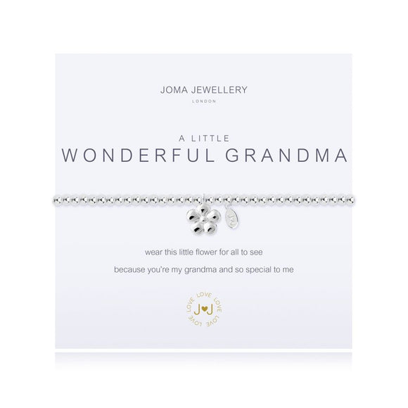 Joma Jewellery - A Little - Wonderful Grandma