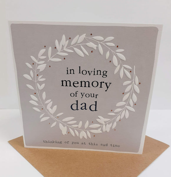 In Loving Memory of Your Dad