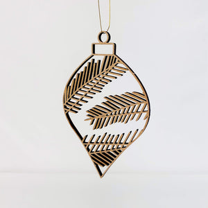 Intricate Wooden Hanging Decoration