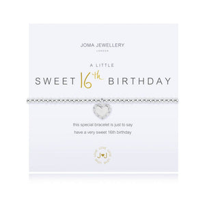 Joma Jewellery - A Little - Happy Sweet 16th Birthday