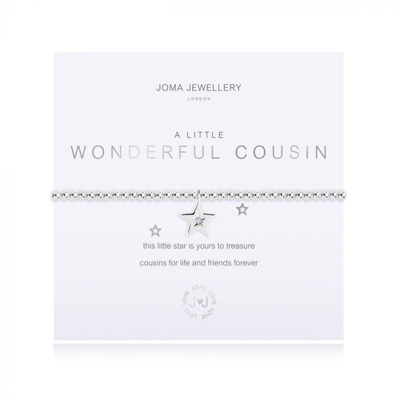 Joma Jewellery - A Little - Wonderful Cousin