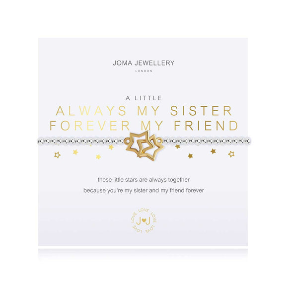 Joma Jewellery - A Little Always My Sister Bracelet