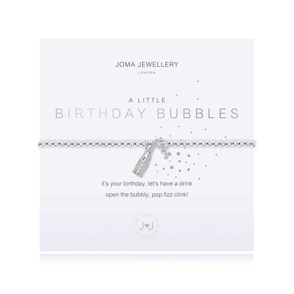 Joma Jewellery - A Little Birthday Bubbles Bracelet