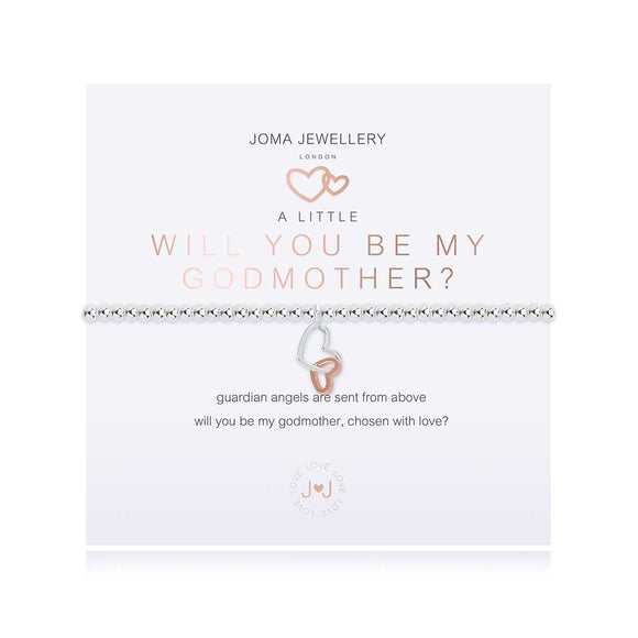 Joma Jewellery - A Little Be My Godmother Bracelet