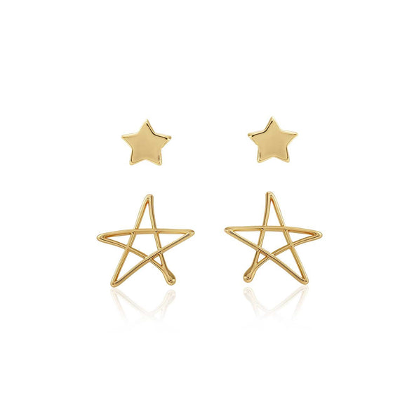 Joma Jewellery - Florrie Star Stud Earrings