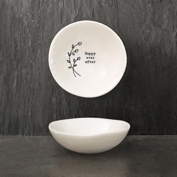 East of India Hedgerow Bowl- Happy Ever After