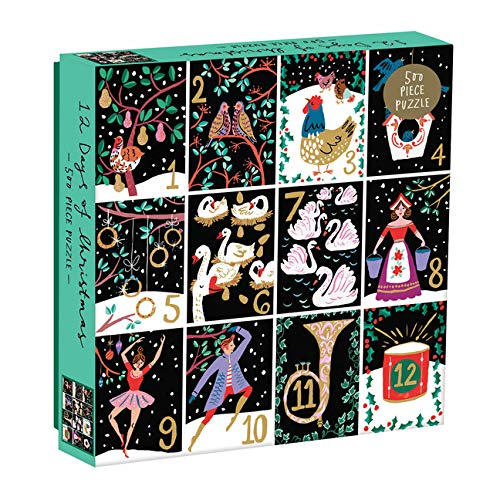 Twelve Days of Christmas 500 Pc Puzzle